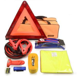 8PCS Emergency Breakdown Car Kit with Foot Pump