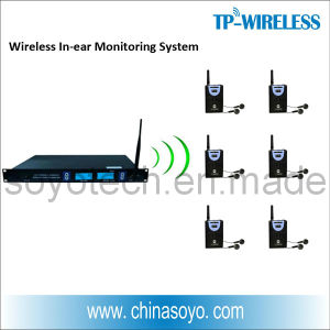 RF Multi-Channel Wireless in-Ear Monitor System (Stereo Long Distance Transmitter) pictures & photos