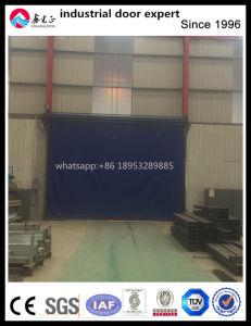 Industrial PVC Rapid Rolling Door pictures & photos