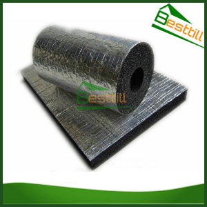 China flexible thermal insulation rubber foam pipe for Flexible roofing material