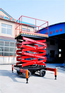 Hydraulic Scissor Lifting Equipment (SJY0.5-6) pictures & photos