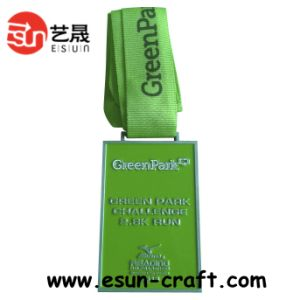 Colored Green Antique Award Medal Customized (M0037)