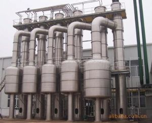 Three-Effect Evaporator for Copper Sulphate, Sodium Phosphate, and Sodium Citrate Solution pictures & photos