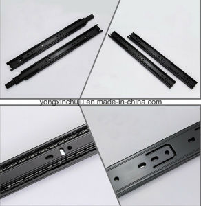 Stainless Steel Three-Fold Ball Bearing Slide Rail (SMS-DR02)