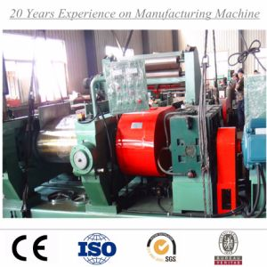 China Rubber Mixer & Two Roll Mill Machine with Stockblender pictures & photos
