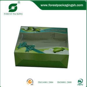 Ecofriendly Color Paper Boxes with PVC Window pictures & photos