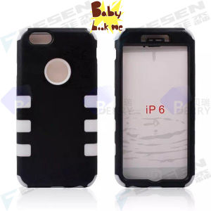 for iPhone Robot Case for New iPhone 6, 2 Layers Cases for iPhone 6, 6 Colors.