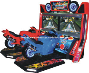 Arcade Game Machine Coin Machine Soul of Racer Motor Arcade Game pictures & photos