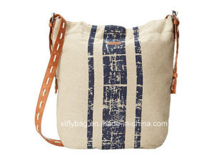 Eco-Friendly Durable Cotton Shoulder Bag Messenger Bag pictures & photos