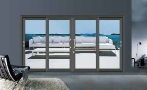 Ritz European Type Heavy Aluminium Sliding Doors Interior Doors pictures & photos