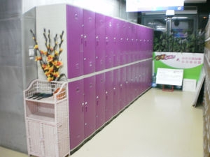 High Quality Gym Equipment of Chaning Room Locker pictures & photos