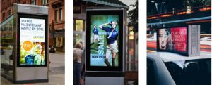 55 Inch Outdoor LCD Advertising Display pictures & photos