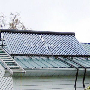 Slope Roof etc Tube Heat Pipe Solar Collector for House pictures & photos