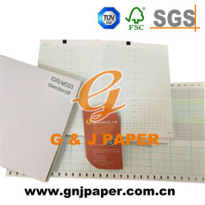 Wood Pulp Medical Recording Paper Used on Ctg/ECG Machine pictures & photos