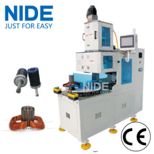 Automatic Doubole Stations Stator Coil Winding Machine for 2 Poles, 4 Poles and 6 Poles Coils Winding pictures & photos