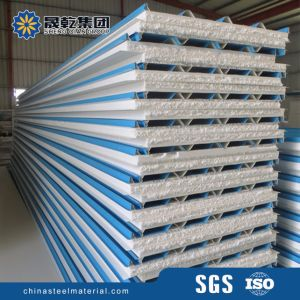 Light Weight Steel Polystyrene EPS Sandwich Panels pictures & photos