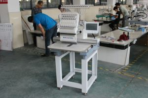 Easily Operate 1 Head T-Shirt Embroidery Reputable Single Head Embroidery Machine Tubular One Head Cap Embroidery Machine High Quality Alibaba Embroidery Swf pictures & photos
