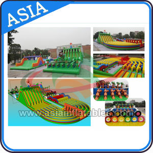 Event Insane Crazy Commercial Inflatable Obstacle Course Races pictures & photos
