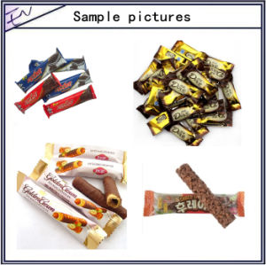 Semi-Automatic Pillow Chocolate Packaging Machine pictures & photos