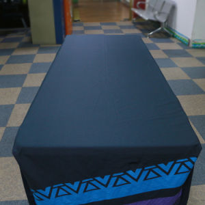 Custom Design 6FT 8FT Stretch Table Cover and Stretch Table Cloth for Decotation pictures & photos