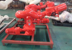 Romote Control Electric and Manual Fire Water Cannon/Fire Monitor pictures & photos