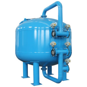 by-Pass Sand Filter Tank for Industrial Chilled Water System pictures & photos