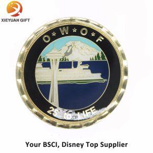 BSCI Disney Top Supplier Make Brass 3D Challenge Coin pictures & photos