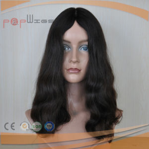 Human European Hair Skin Top Wig (PPG-l-0599) pictures & photos