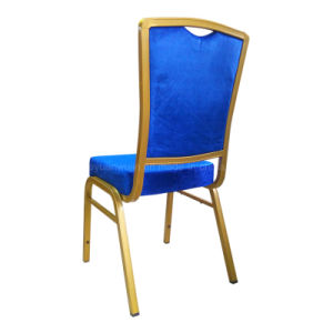 Blue Stacking Steel Banquet Chair for Meeting (JY-T19) pictures & photos