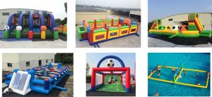Inflatable Football Field /Inflatable Sport Game /Inflatable Soccer Ball for Sale pictures & photos