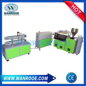 Sj Small Scale Plastic Pipe Profile Extruder Machine pictures & photos