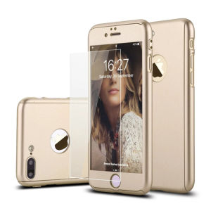 iPhone 7 Thin Hard Mobile/Cell Phone Case with Tempered Glass pictures & photos