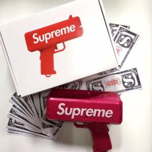 Make It Rain Money Gun Red Toy Cash Cannon Money Gun for Party Celebration Bur Home pictures & photos
