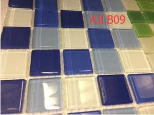 High Grade  Crystal Glass Mosaic in Foshan (AJLB09) pictures & photos