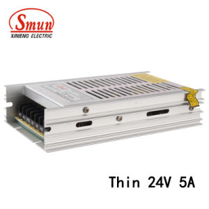 Smun SMB-120-24 120W 24VDC 5A Ultra-Thin Switching Power Supply pictures & photos