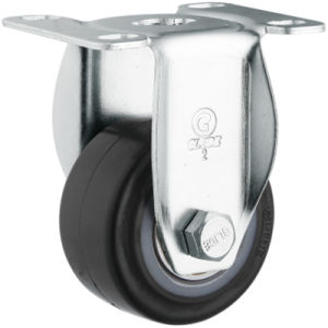 Medium Duty Polyurethane Caster (Black) (Flat Surface) (G2204) pictures & photos