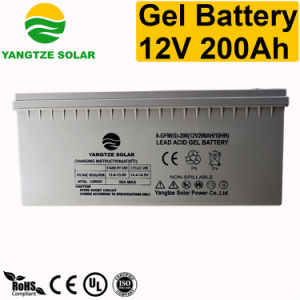 10 Years Life 12V200ah Gel Rechargeable Batteries pictures & photos