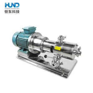 Stainless Steel Inline High Shear Pipeline Homogenizer Pump for Food pictures & photos