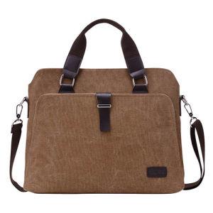 Messenger Canvas Business iPad Shoulder Laptop Computer Briefcase pictures & photos