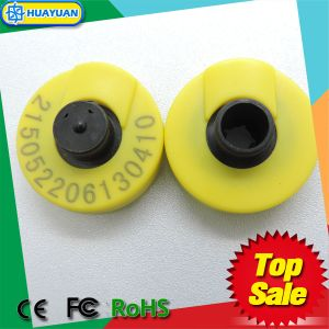 Animal tracking 134.2kHz EM4305 RFID Animal Ear Tag pictures & photos