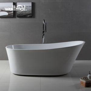 New Silm Overflow up End One End Slipper Freestanding Bathtub pictures & photos