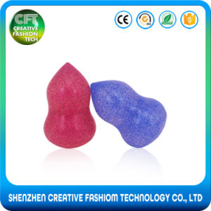Hot Selling Shiny Colorful Cosmetic Foundation 3D Silicone Blender Sponge pictures & photos