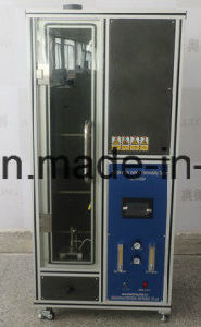 IEC60332 IEC60695 Single Cable Vertical Flame Tester pictures & photos
