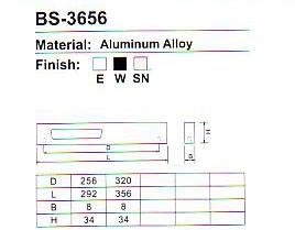 BS-3656 Aluminium Cabinet Handle Series pictures & photos