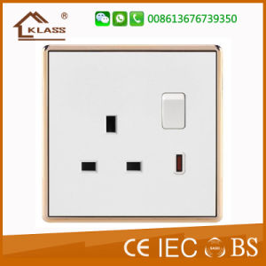 High Quality UK Standard Big Button Light Switch pictures & photos