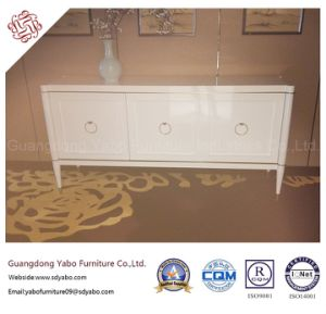 Hotel Furniture with White Sideboard for Lobby Lounge (YB-T-861) pictures & photos