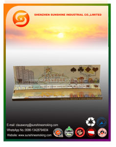 12.5GSM Brown Color Cigarette Paper with King Slim Size pictures & photos