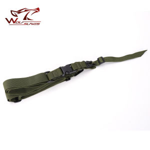 Black Nylon Double Point Gun Sling Tactical Airsoft Gun Rope 3 Point Gun Strap pictures & photos