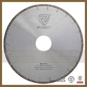 Super Quality W Shape Diamond Wet Cutting Disc for Granite (Sunny Tools 015) pictures & photos