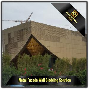 Luxury Gold Exterior Decorative Facade Aluminum Panel pictures & photos